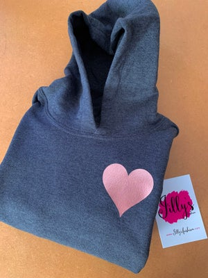 Image of Harriet heart hoody - kids