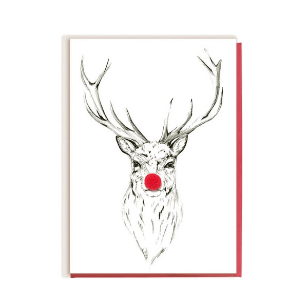 Image of Red Nose Stag