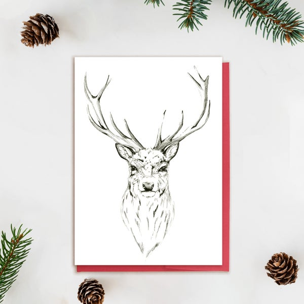 Image of Illustrated Stag