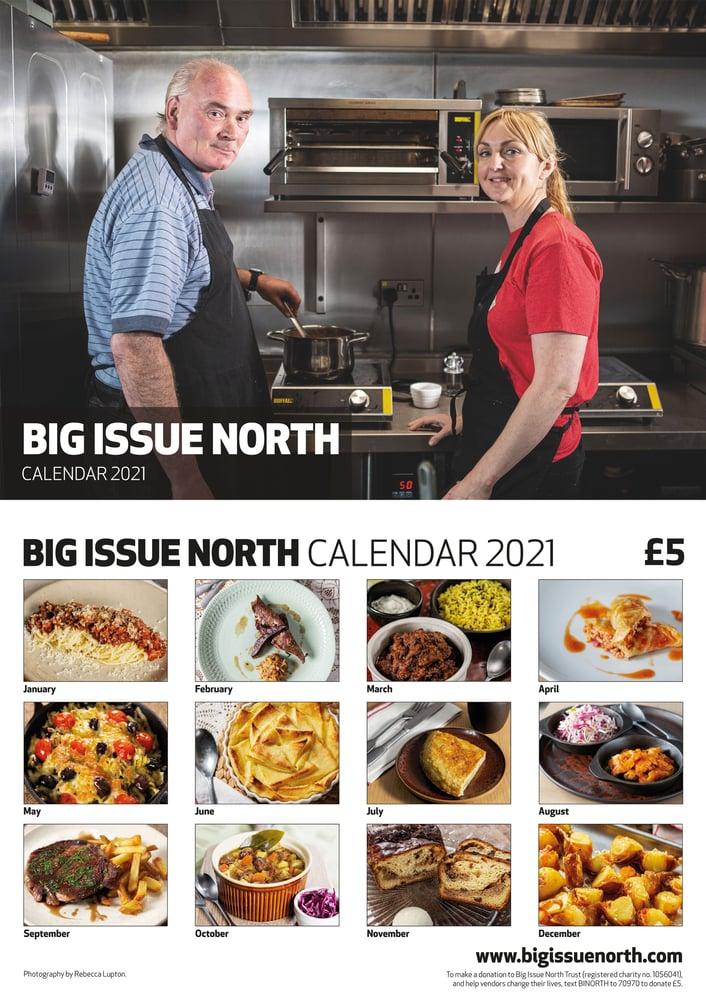 Image of Big Issue North 2021 Calendar