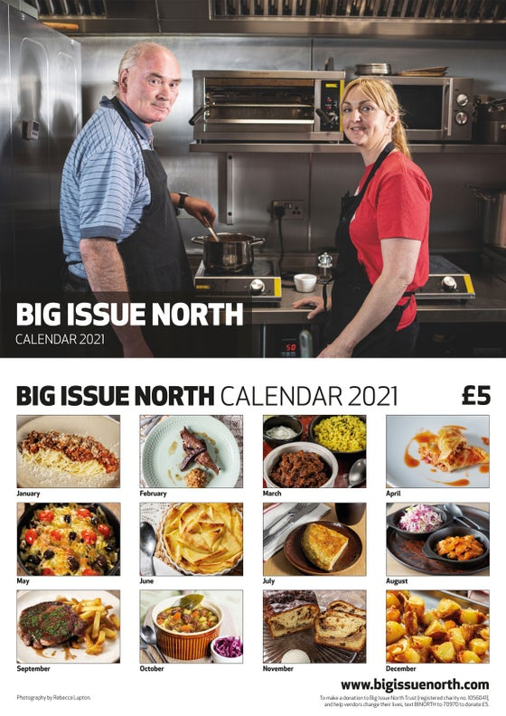 Image of Big Issue North 2021 Calendar