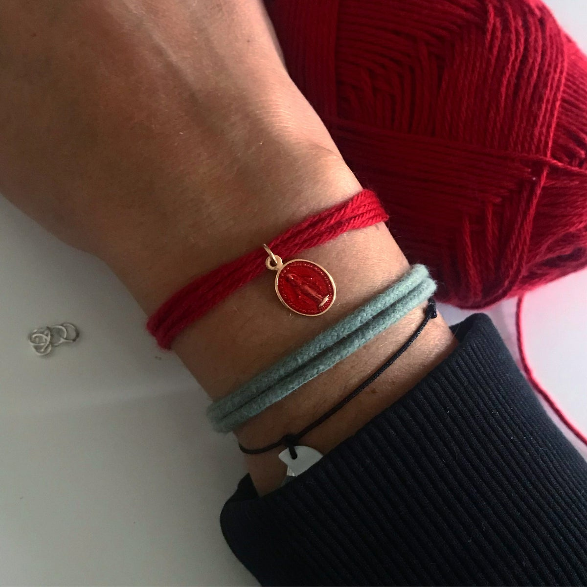 Image of Bracelet cerise