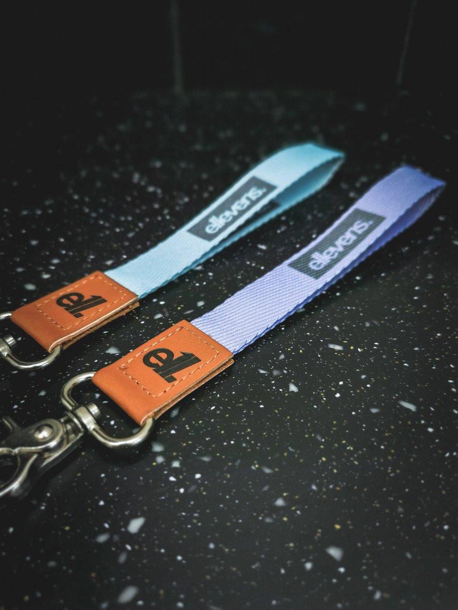 Image of E11evens - Pastel teal/turquoise short lanyards