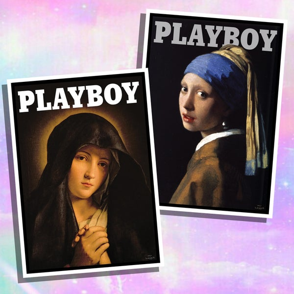 Image of The playboy painting set