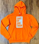 Image of Unisex Orange Sherbert Hoodie
