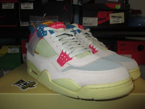 "Image of Air Jordan IV (4) Retro SP x Union LA ""Guava Ice"""