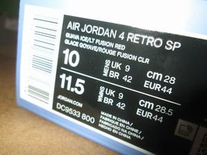 """Image of Air Jordan IV (4) Retro SP x Union LA """"Guava Ice"""""""