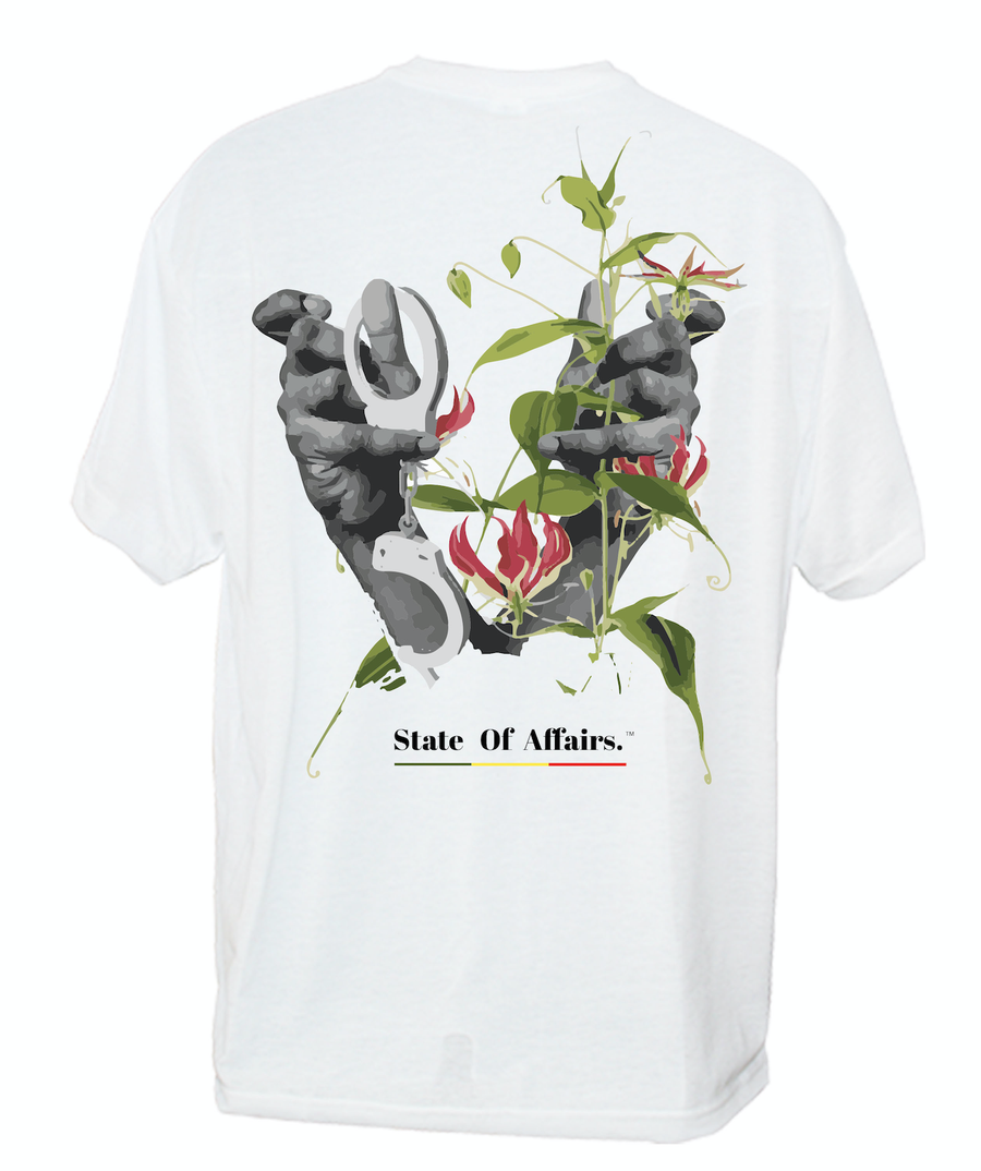 "Image of ""Flowers & Shackles""  T-shirt"