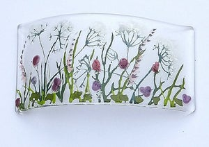 Clover and grasses