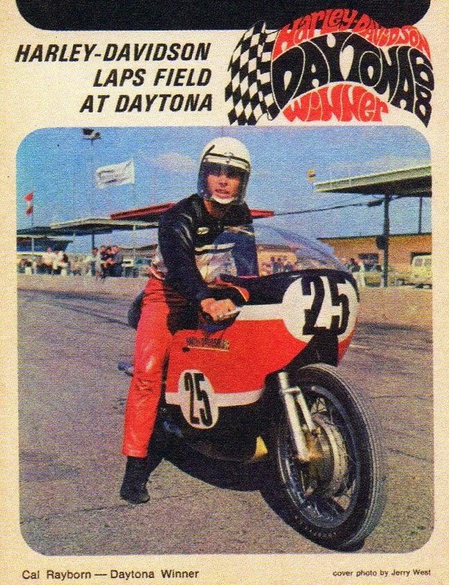 Image of Vintage 60s Harley Davidson Daytona Winner Hoodie
