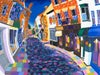 Market Harborough Church Street Print