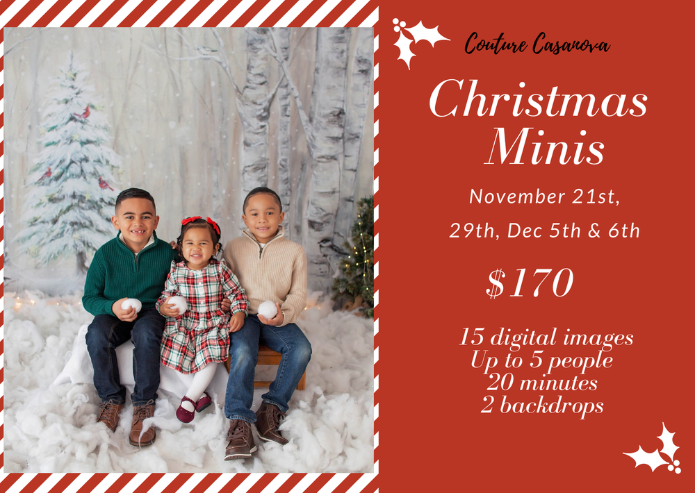 Image of Christmas Mini sale December 5th