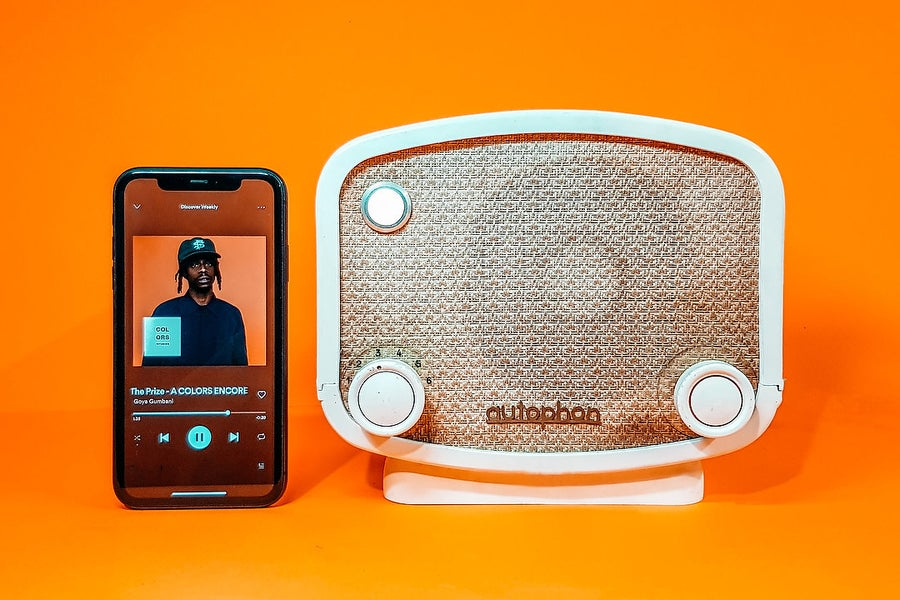 Image of AUTOPHON SOLOTHURN E60 (1950) SPEAKER VINTAGE BLUETOOTH