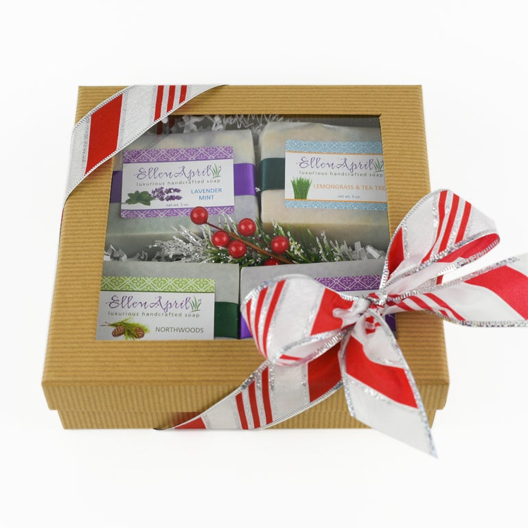 Image of Four Soap Gift Box