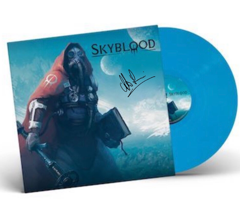 Image of Skyblood vinyl - Blue (signed)