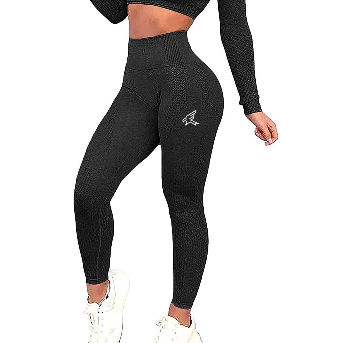 Image of Charcoal Seamless High Waisted Leggings