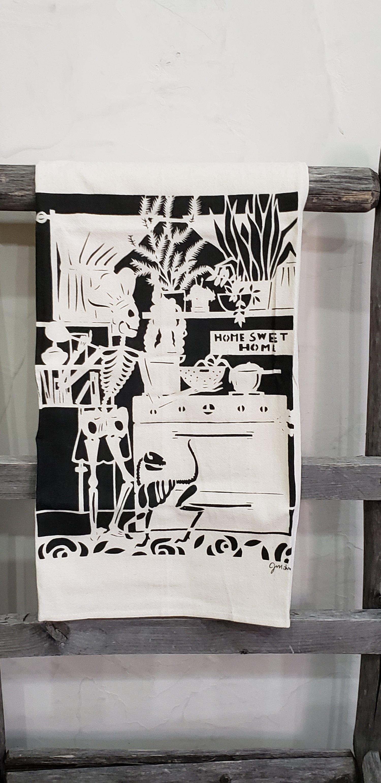 "Image of ""Home Sweet Home"" dishtowel"