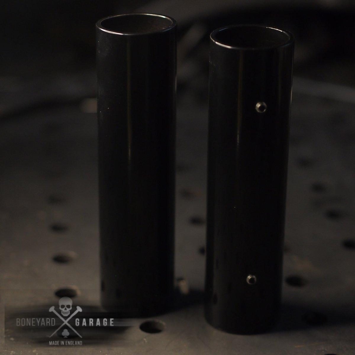 Sportster fork tube covers