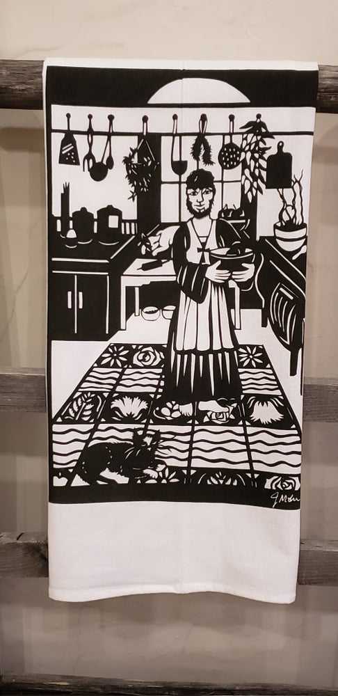 """Image of """"San Pasqual"""" dishtowel"""