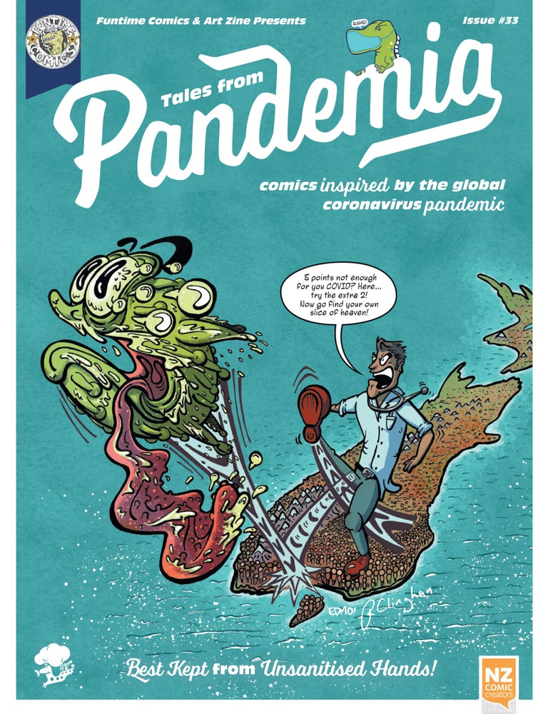 Image of Funtime Comics & Art Zine Presents Tales from Pandemia #33