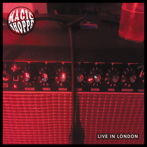 Image of Magic Shoppe - Live In London (Clear Vinyl with Red Smoke) - Acid Test / Little Cloud Records