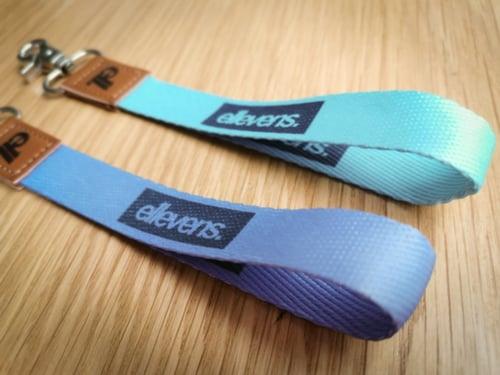 Image of E11evens - Pastel purple wrist lanyards