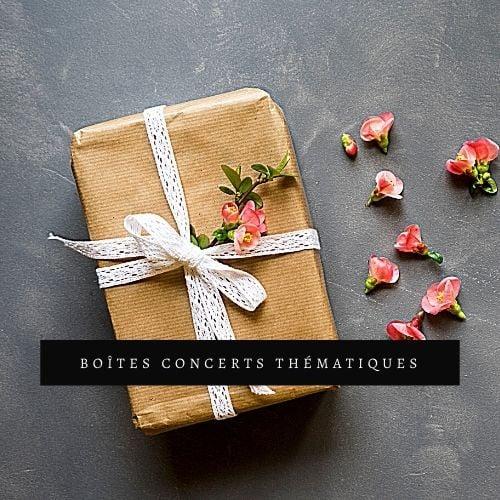 Image of Boîte : Concert thématique - Série Hiver 2021