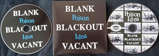 Image of BLANK BLACKOUT VACANT CD with bonus tracks