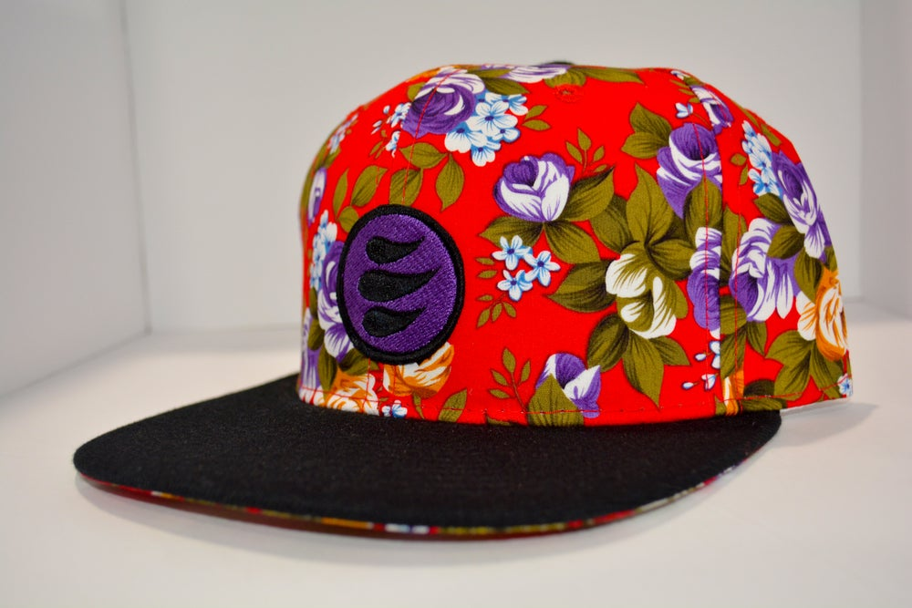 Epic Red Floral