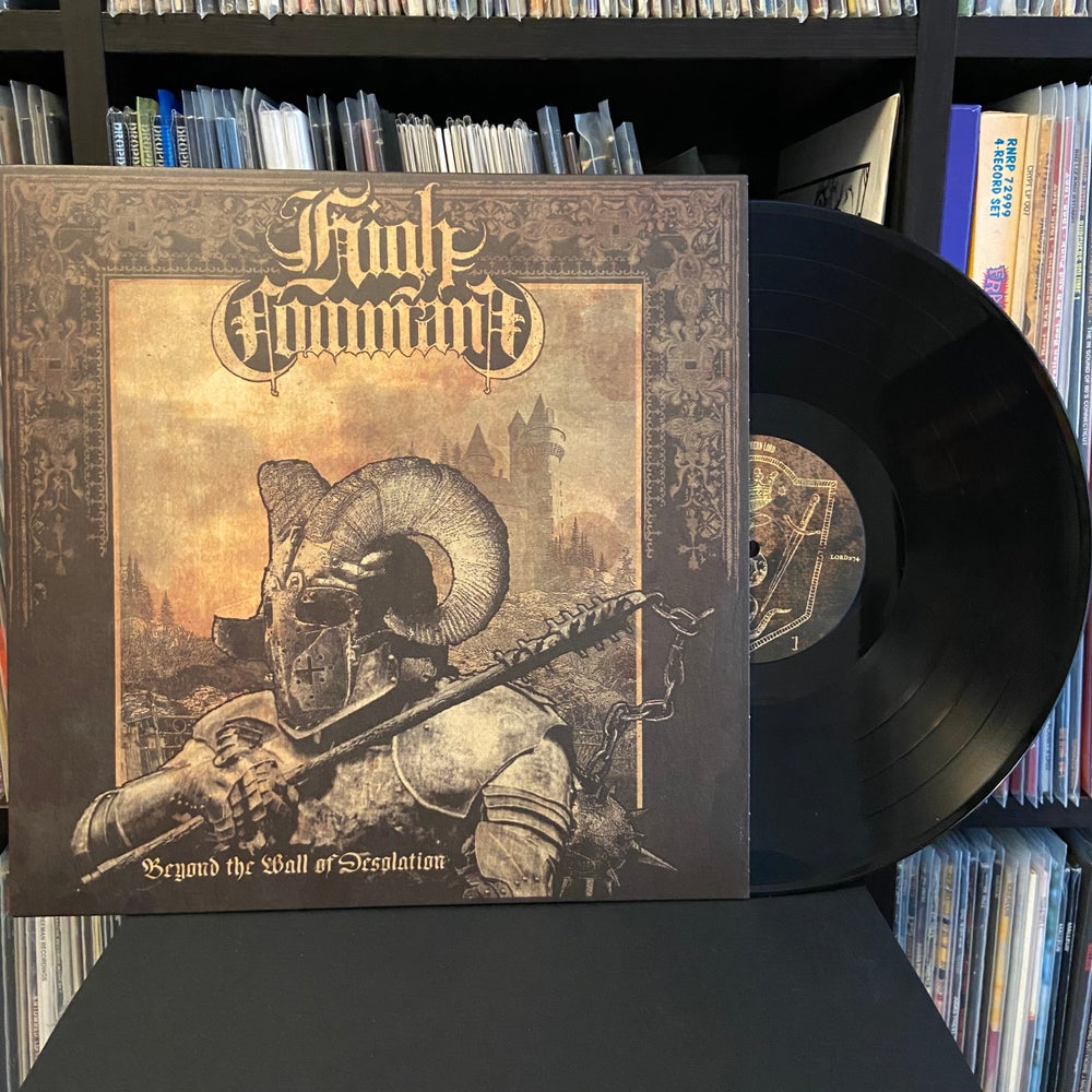 "HIGH COMMAND ""Beyond The Wall Of Desolation"" LP"