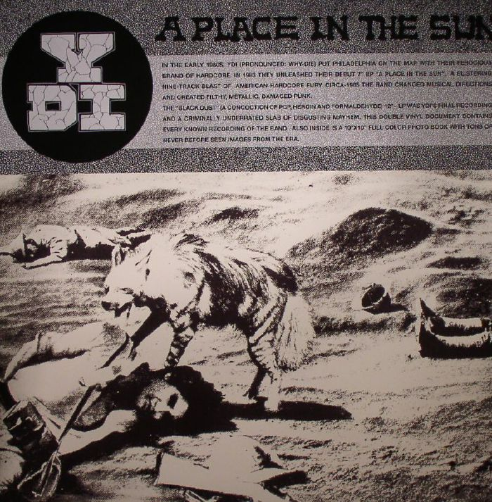 """YDI """"A Place In The Sun / Black Dust"""" 2LP"""