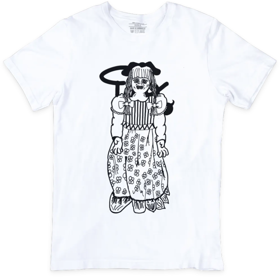 Image of Lucinda t-shirt | White £18