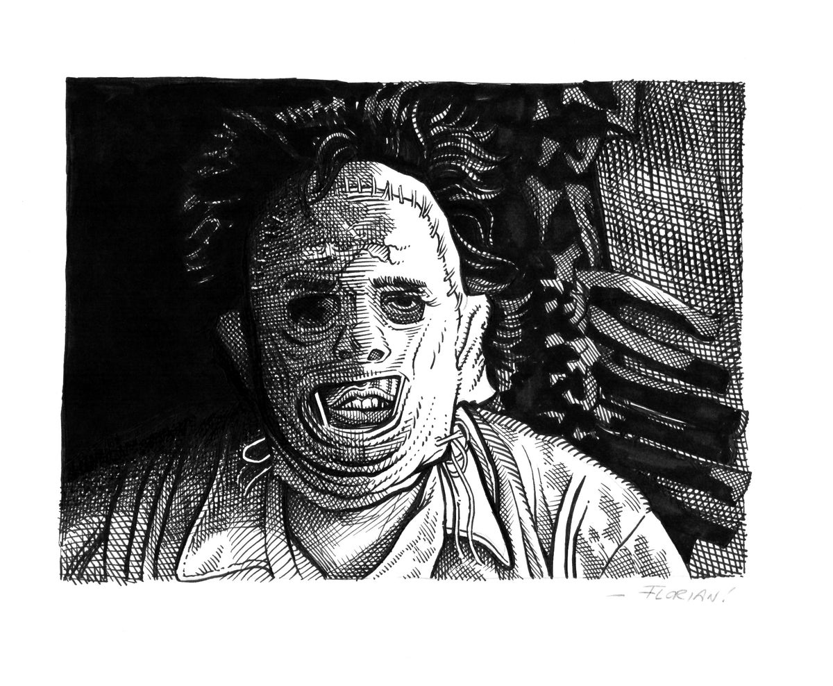 Image of Leatherface - Original Artwork