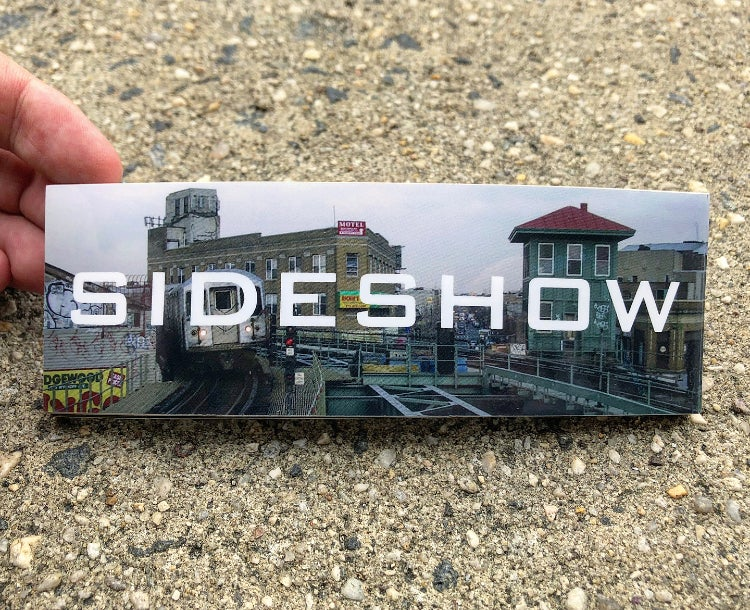 Image of Sideshow - Myrtle/Wycoff Sticker (3 Pack)