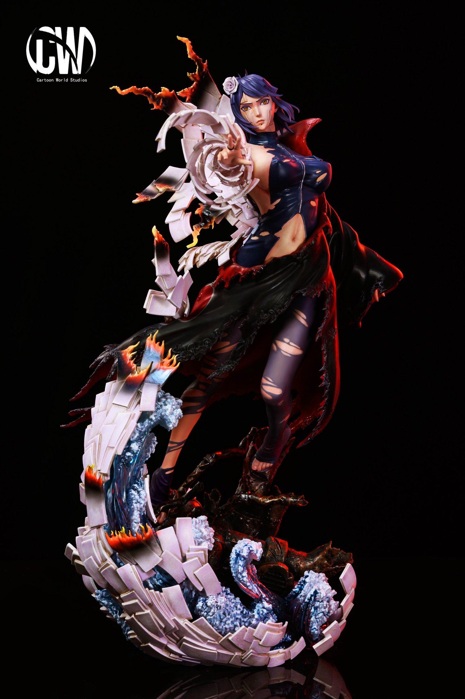 Image of [Last-Stock]Naruto CW Studio Battle Damaged Series Vol.2 Konan  Resin Statue