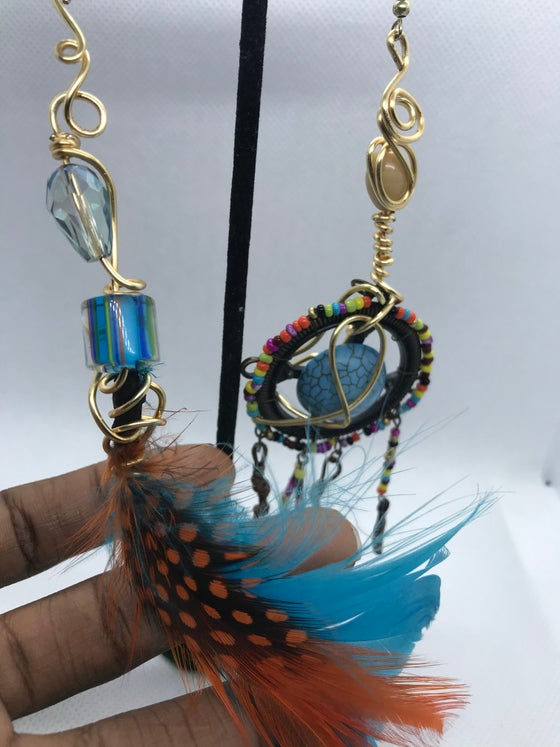 Image of Dream Catcher mixed match earrings