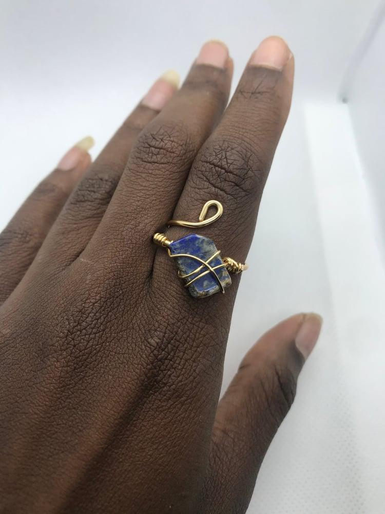 Image of Lapis lazuli ring