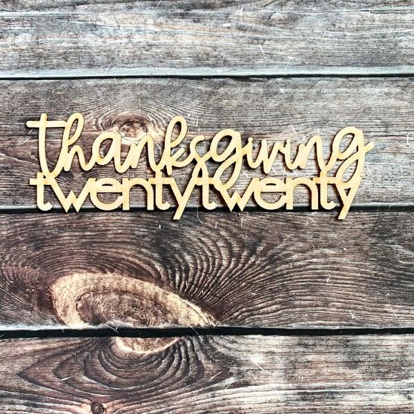 Image of Thanksgiving Twenty Twenty