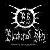 "Image of Blackened Sky - Sticker ""Classic"""
