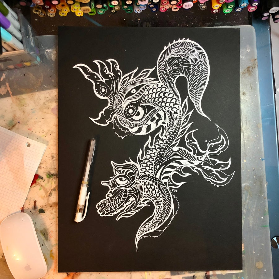 Image of Lace Wolf