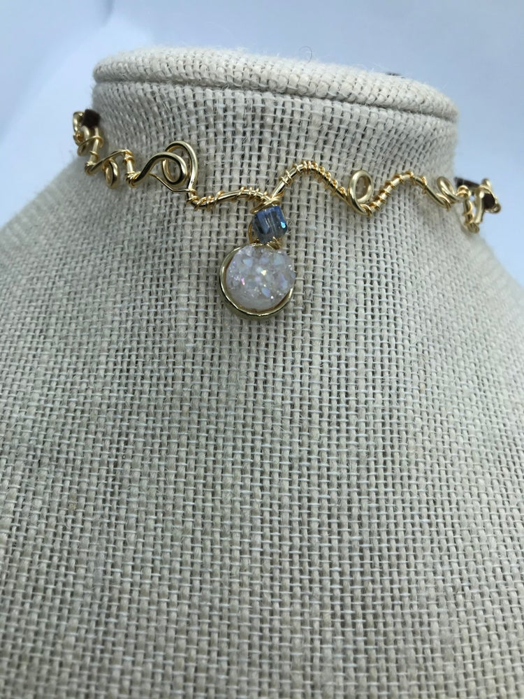 Image of The 90's crystal chocker