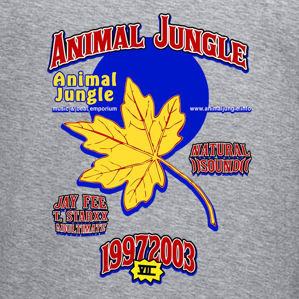 ANIMAL JUNGLE - JUNGLEWOOD AEROMATIC [BLACK] - T-SHIRT