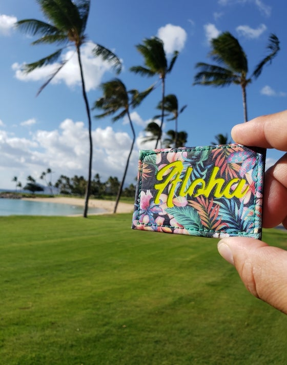 Image of New! Aloha laser cut