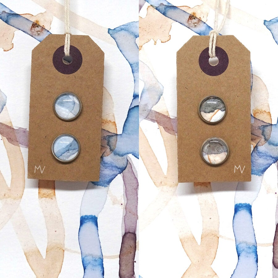 Image of Art Earrings: Breathe