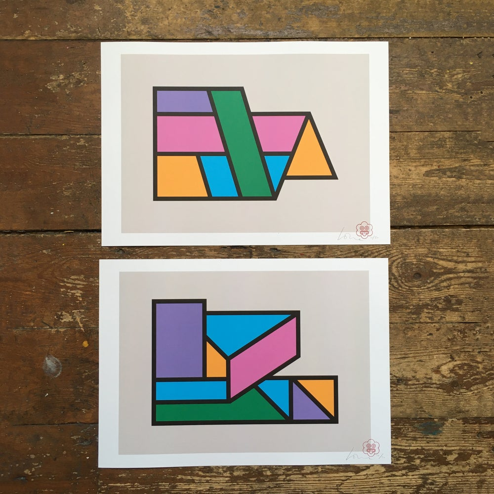 Image of Two Forms (A3) Limited Offer