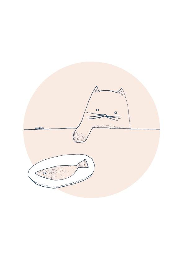 Image of Card Cat Fish
