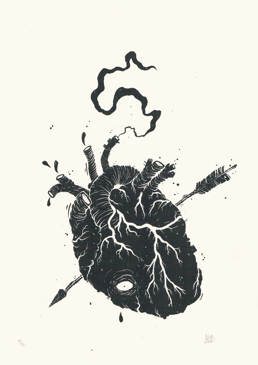 Image of BLACK HEART