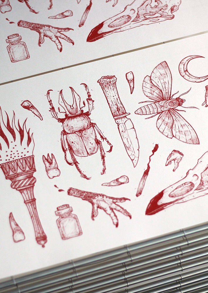Image of OCCULT FLASH SHEET