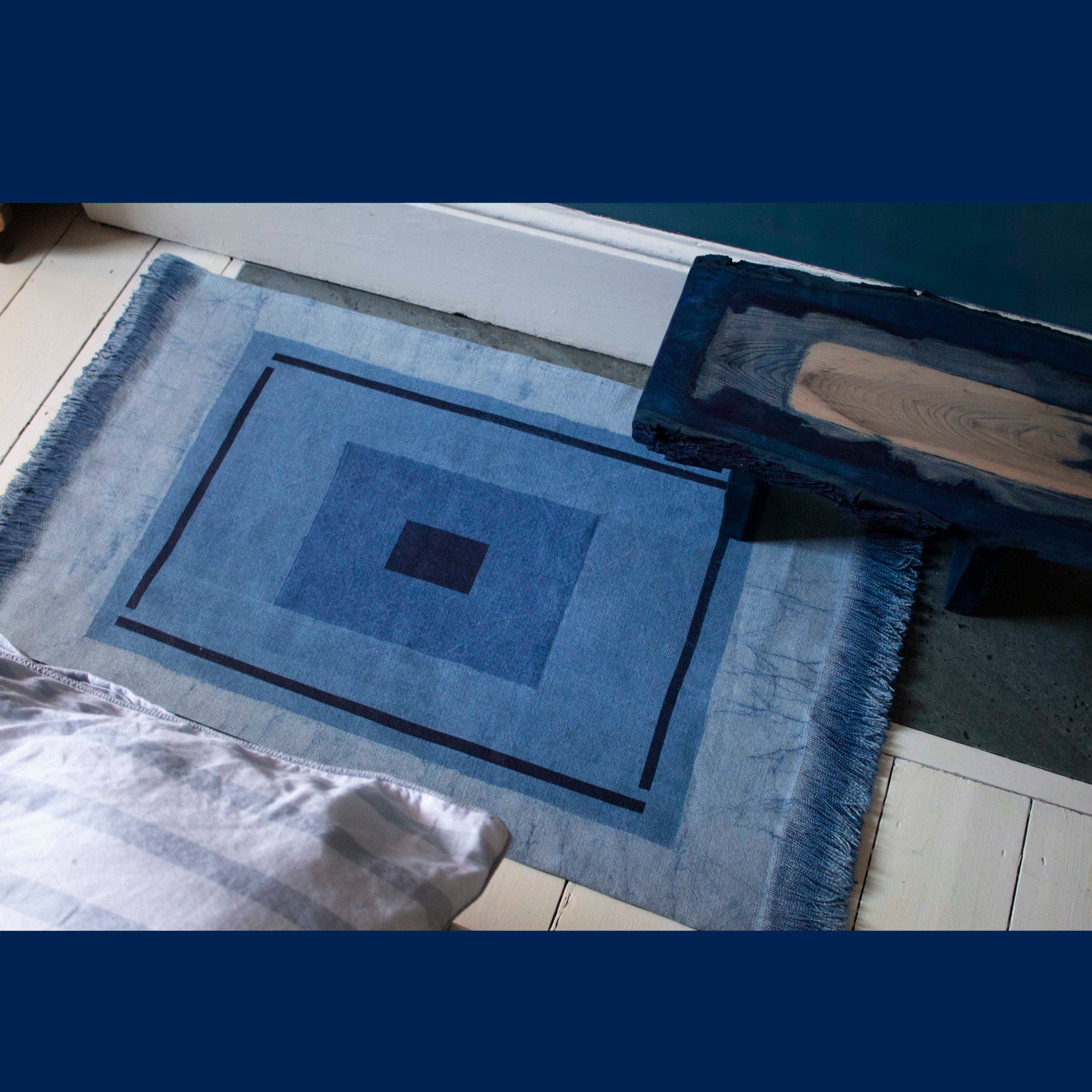 Image of Blue Series Rug 1#