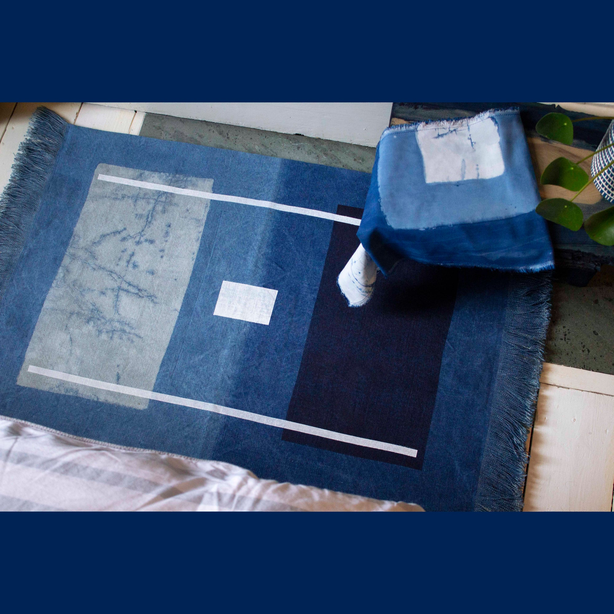 Image of Blue Series Rug 2#